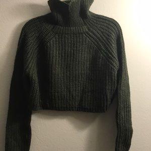 NWT🎈LF Chunky turtle neck crop sweater